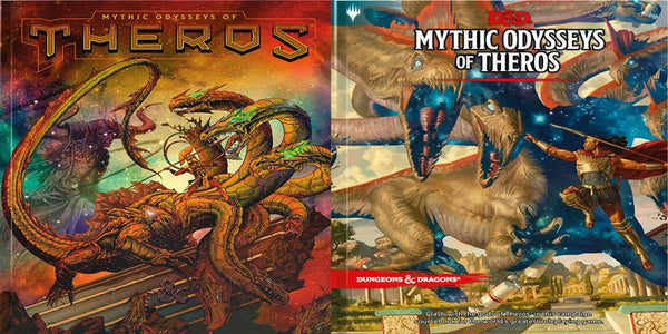 Mythic Odysseys of Theros: (Alternate Art) Hardcover Dungeons & Dragons