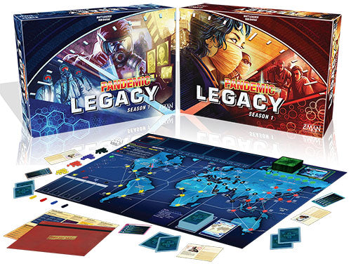 Pandemic Legacy Season 1: Blue