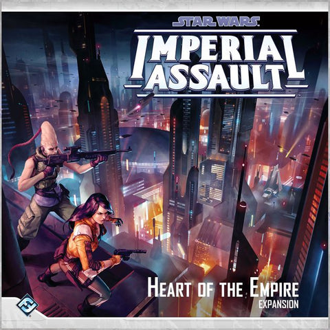 Star Wars Imperial Assault: Heart Of The Empire Expa