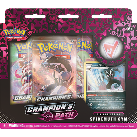 Spikemuth Gym Champions Path Pin Collection Pokemon