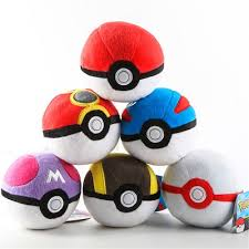 Pokemon- Pokeball Plush- Various Pokemon