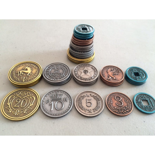 Scythe: Metal Coins Upgrade Pack