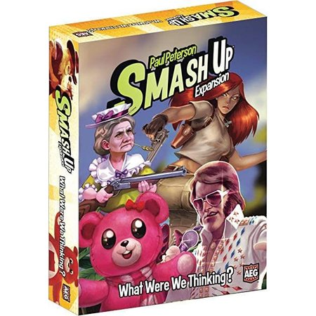 Smash Up Exp: What Where We Thinking?
