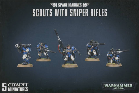 Space Marine Scouts with Sniper Rifles Warhammer 40,000