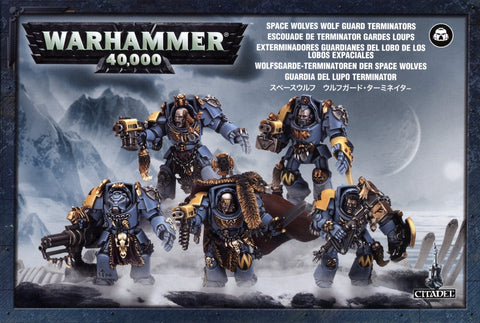 Space Wolves Wolf Guard Terminators Warhammer 40,000