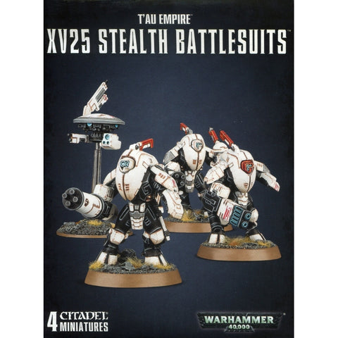 XV25 stealth Battlesuits Tau Empire Warhammer 40,000