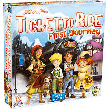 Ticket to Ride Europe - First Journey