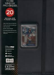 Ultra Pro Window Binder