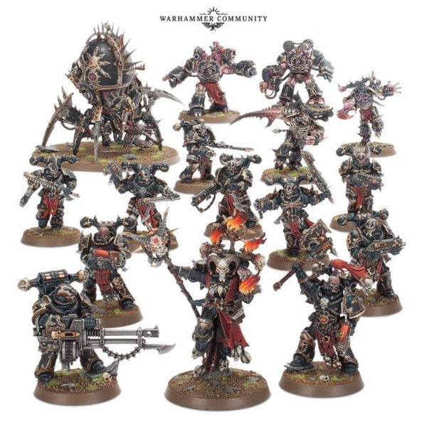Start Collecting: Chaos Space Marines Warhammer 40000