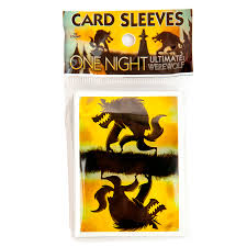 One Night Werewolf Card Sleeves 50 pack