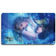 Final Fantasy TCG Yuna & Tidus playmat