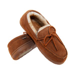 LAMO M0002 MOCCASIN RUBBER SOLE CHESTNUT