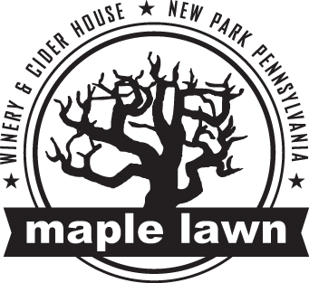 fruit wines from maple lawn winery