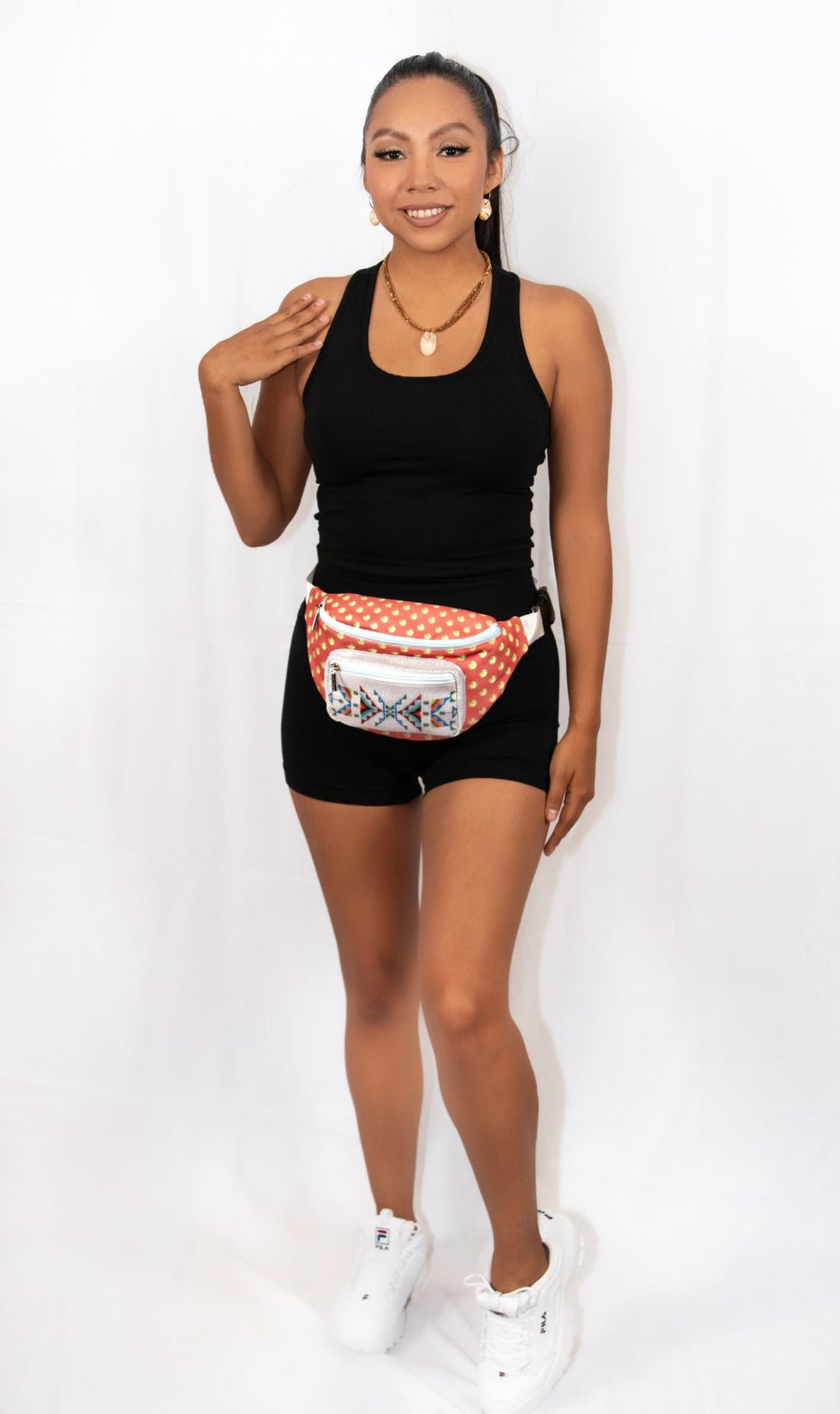 Beadwork & Sequin Belt Bag