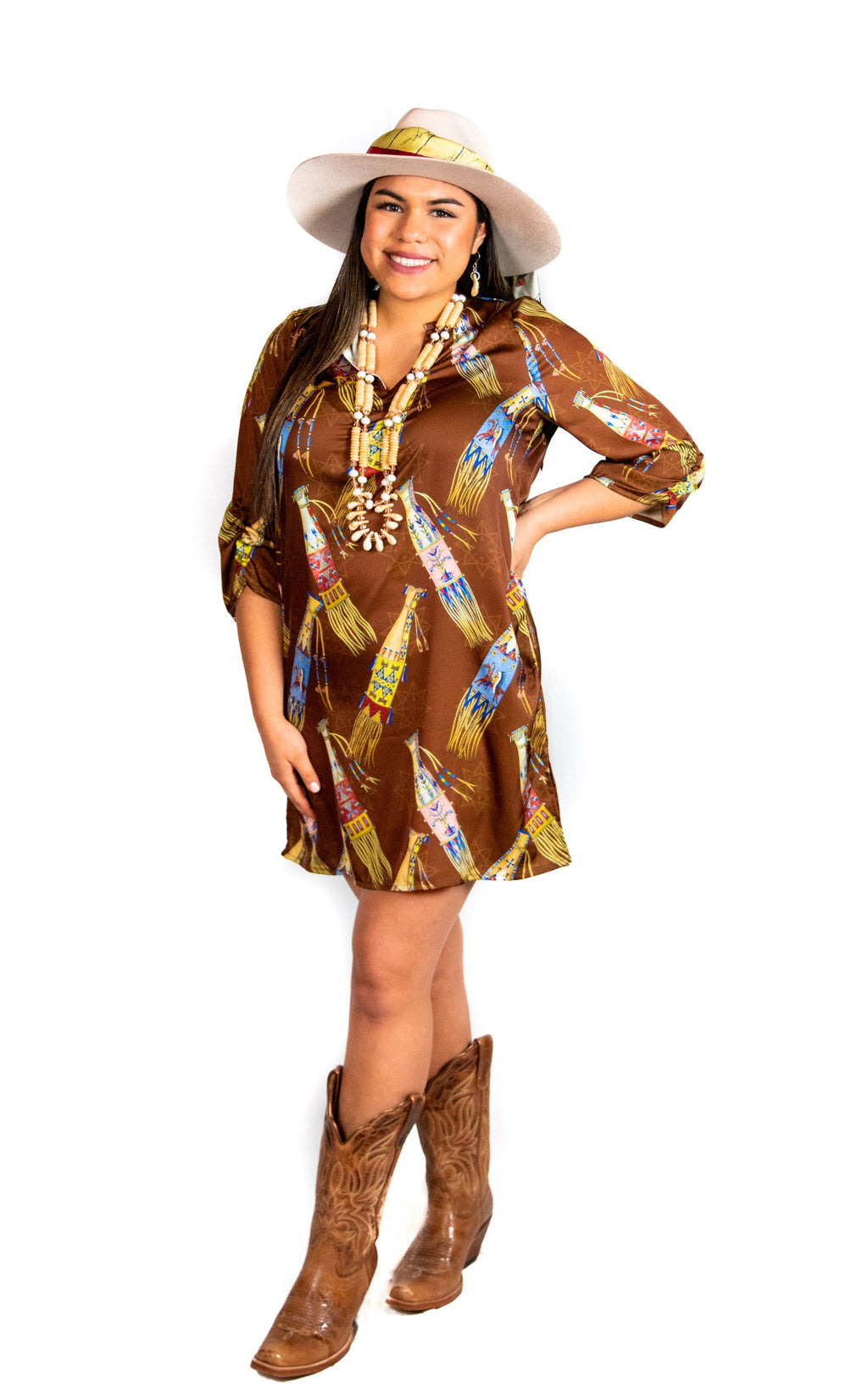 Pipe Bag Shift Dress/Tunic