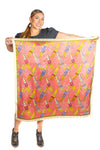 Pipe Bag Silk Scarf