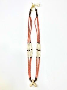 Paired Elk Ivories Necklace