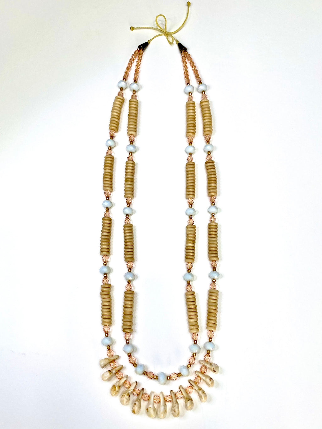 Elk Ivory & Bone Necklace