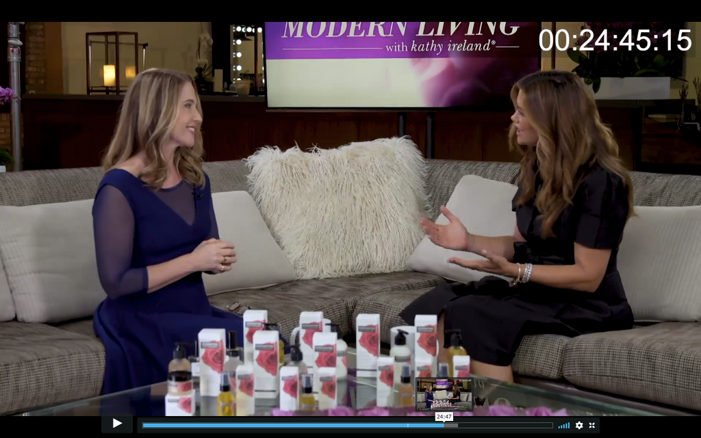 Kensington Apothecary featured on Modern Living with Kathy Ireland ®