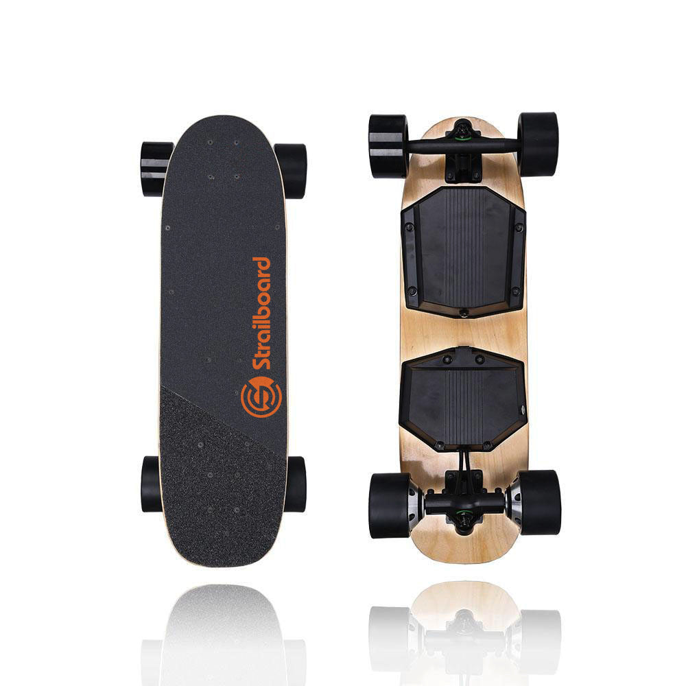 "Strail Mini (28"") Electric Skateboard with Wireless Remote Control"