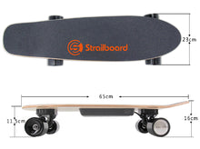 Load image into Gallery viewer, Strailboard Mini 28 Inch Electric Skateboard for Kids with Dual LED Light