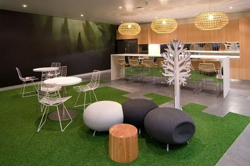 Include Artificial Grass in Your Interior Design and Go From Drab to Fab