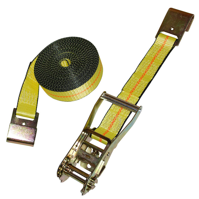 "Straps - Ratchet Tie Down Strap - 2""x27' - 1 Piece (#12150)"
