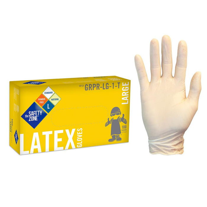 Latex Gloves - Box of 100 (#11340)