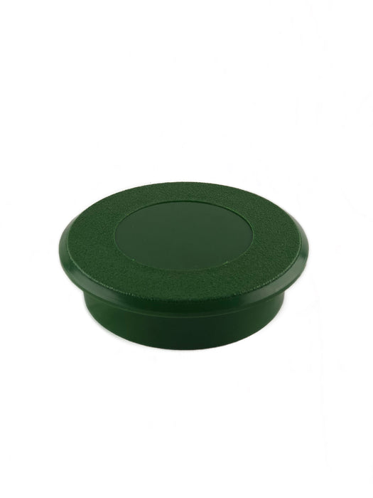Golf Cup Cover - Green -  Protect hole from Residue or Repurposes Your Putting Green for Non-Golf Activities - Place on top of Putting Green Holes and Make Holes Disappear- Easy Slip On Installation (#10760)