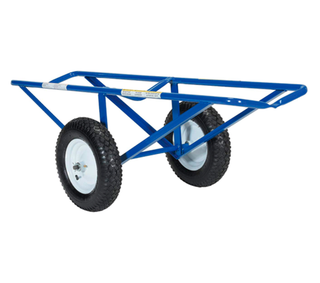 "Turf Dolly - With Fully functional Neumatic Wheels, Portable Design, 500Lb Capacity, 60"" Length x 26"" Width x 20"" Height, Platform Width (in.) 14-11/16"" (#11990)"