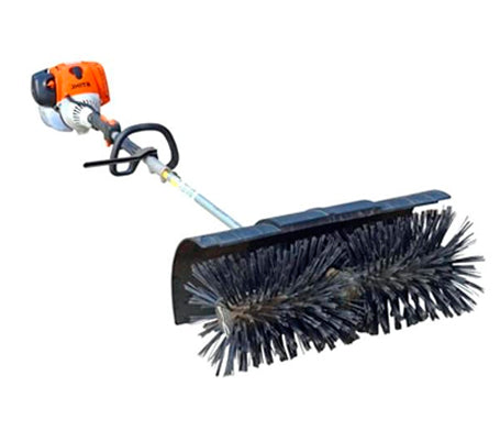 Power Broom - Hand-held - Used for installing infill into Artificial Grass and also for maintenance to re-erect turf fibers and sweep off dirt & residue (#12100)