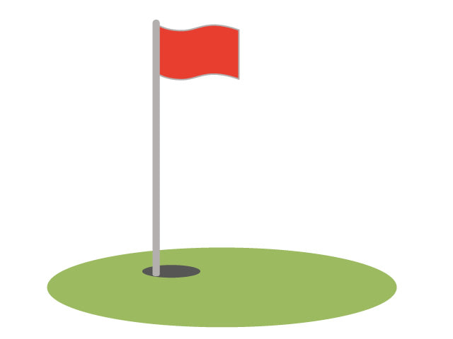 Golf - Nylon Flag (#10740)