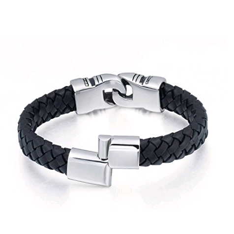 Stainless Steel Men's Wealth Magnetism Bracelet