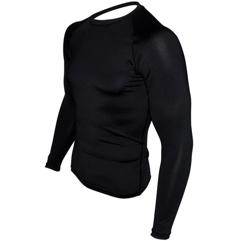 Plain Black Rashguard