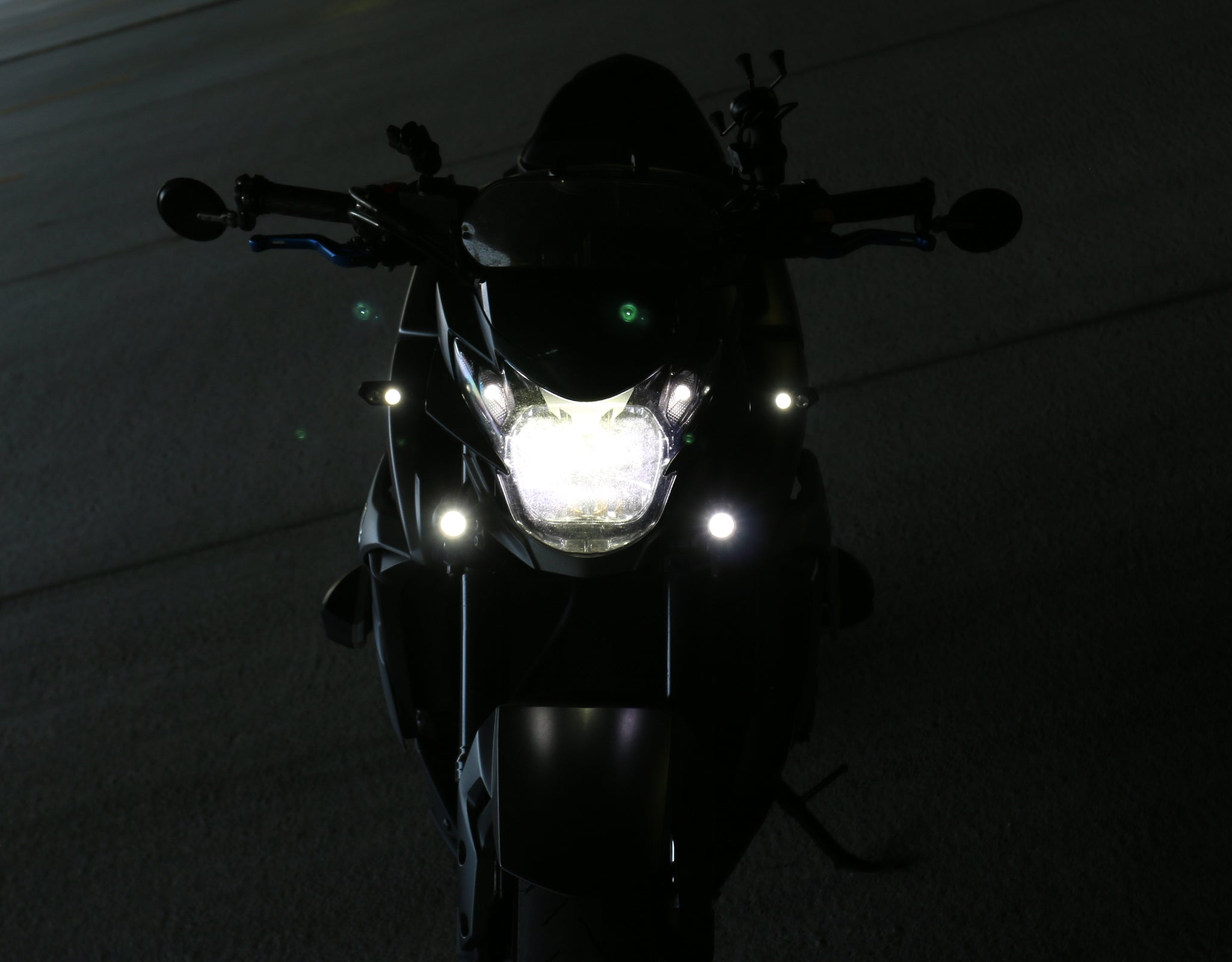 DM Light Kit on Suzuki GSX-S 750