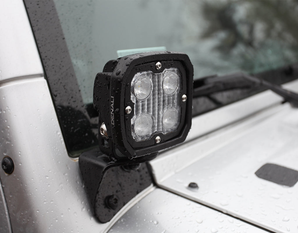 Driving Light Mount - Jeep Wrangler JK '07-18