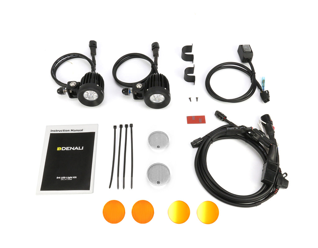 D2 Amber LED Light Kit with DataDim™ Technology