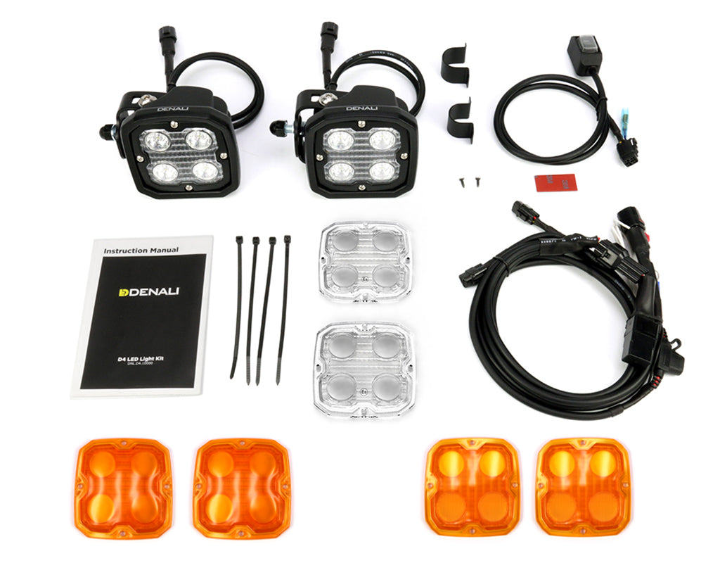 D4 Amber LED Light Kit with DataDim™ Technology