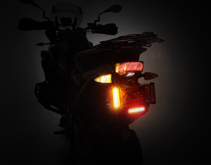 DRL Daytime Running Lights - Offset Mount, Amber