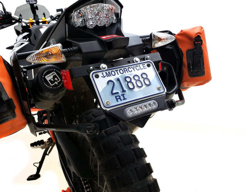 Plug-&-Play B6 Brake Light for Select KTM Adventure Motorcycles - Single or Dual