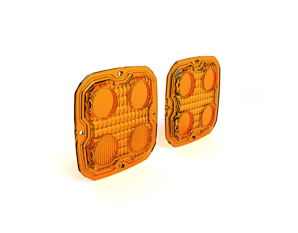 Image of TriOptic™ Lens Kit for D4 LED Lights - Amber or Selective Yellow