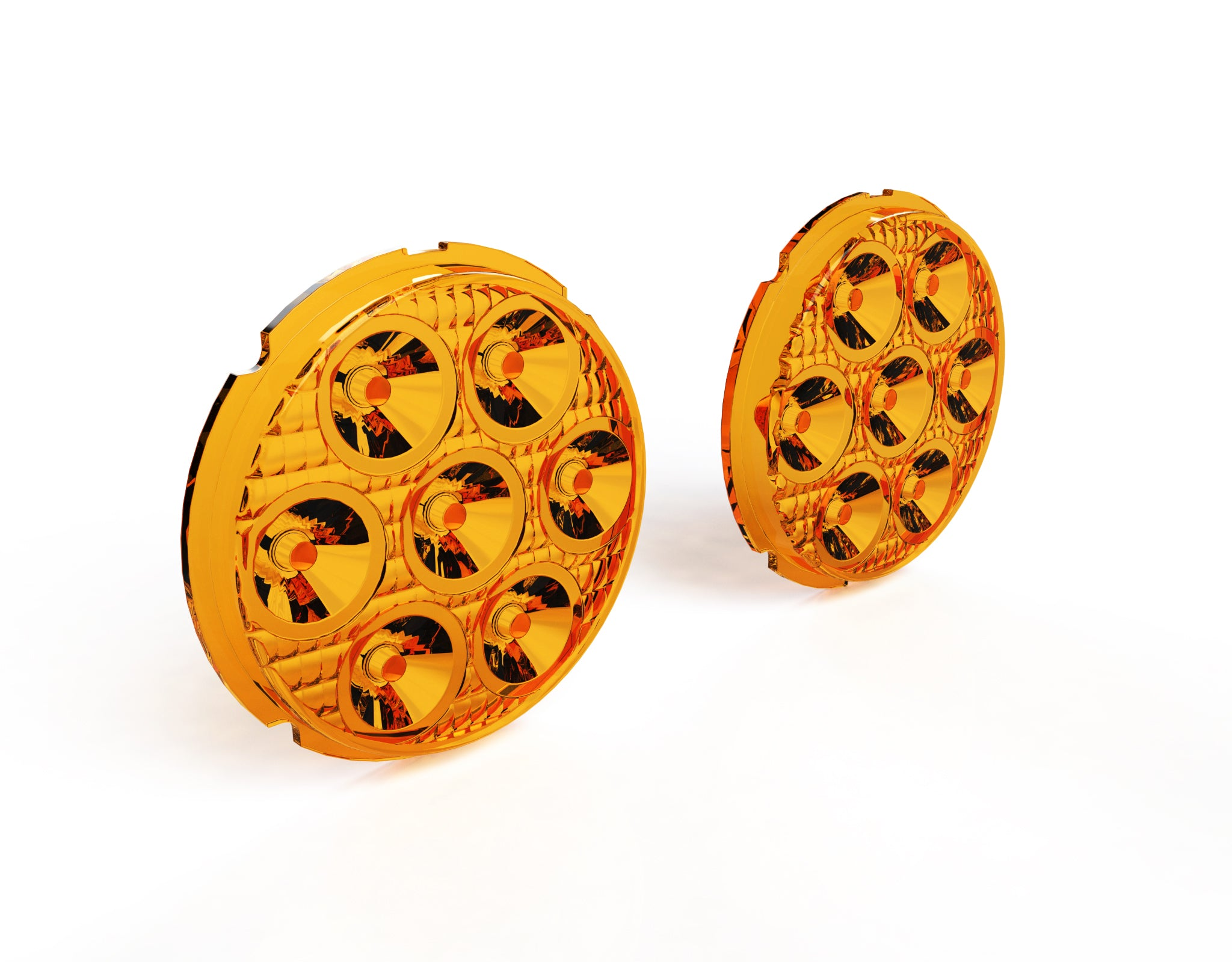 Image of Lens Kit for D7 LED Lights - Amber or Selective Yellow