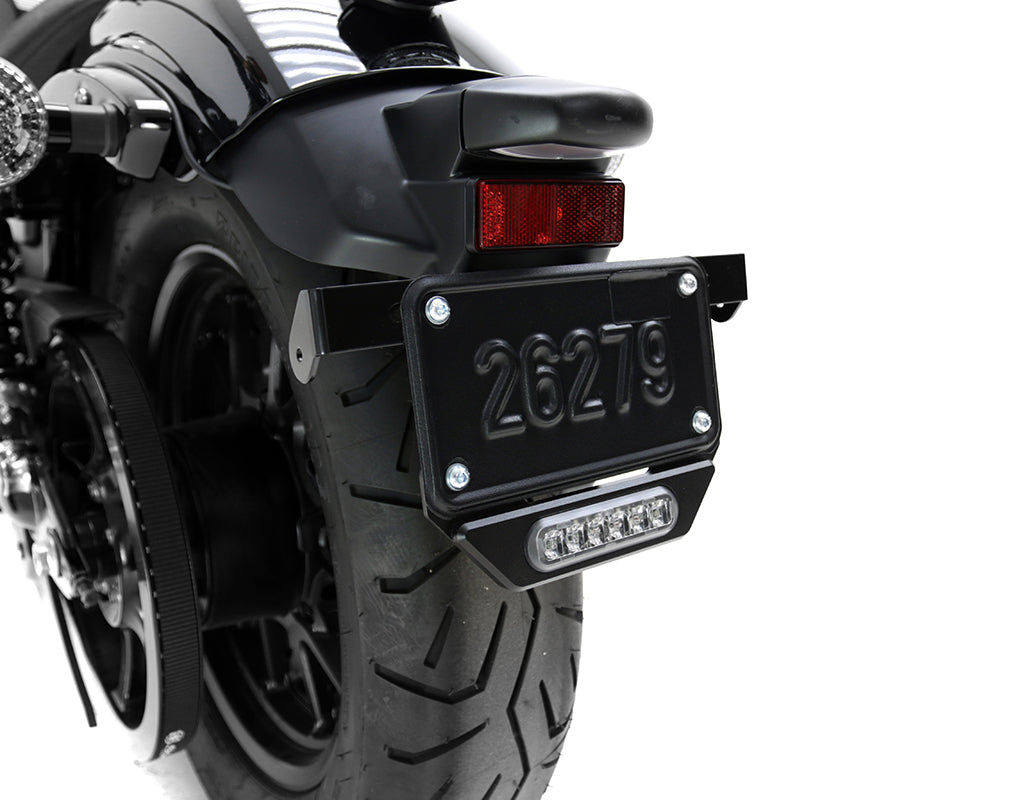B6 LED Brake Light Kit with License Plate Mount