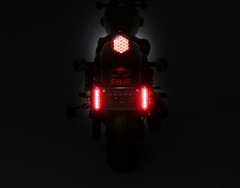 B6 Brake Light Visibility Pod - Red