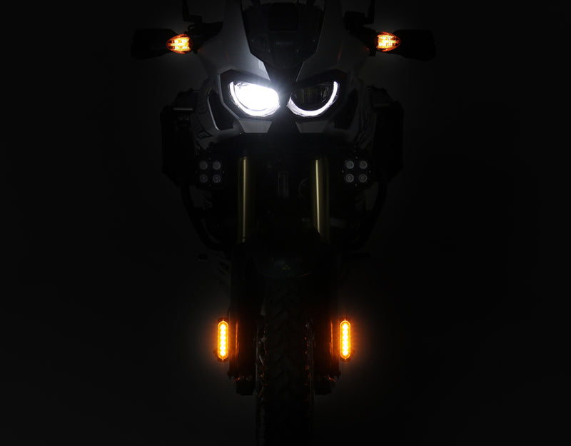 DRL Visibility Lighting Kit with Fender Mount - White or Amber