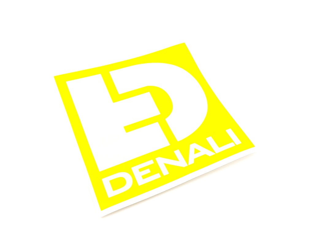 "Decal - Die-Cut Icon Logo Yellow 5""x5"""