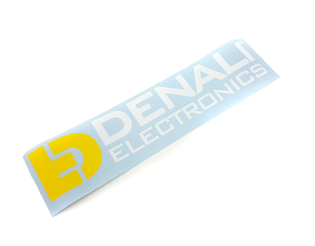 "Decal - Die-Cut Full Logo Muli-Color 21""x5"""