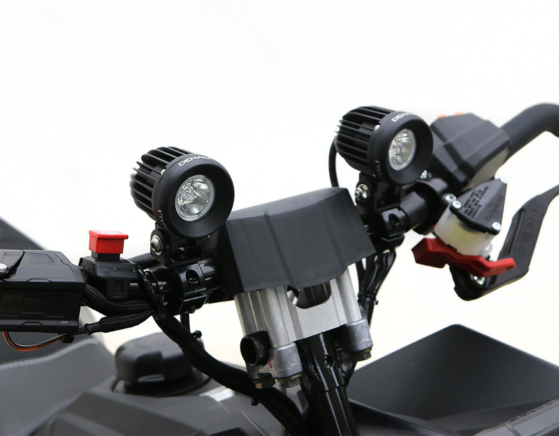 D2 Handlebar Light Kit - Snowmobiles, ATVs & Motorcycles