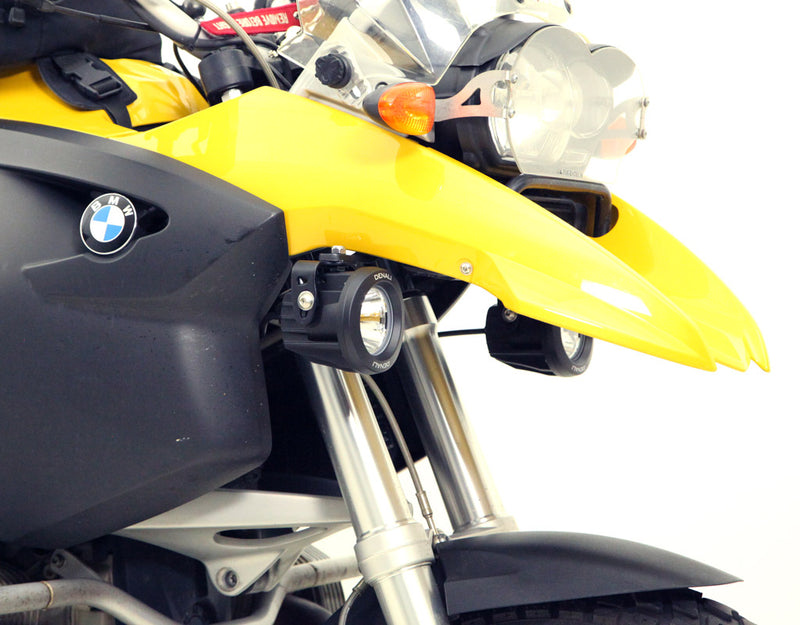 Driving Light Mount - BMW R1200GS '04-'12 & R1200GSA '05-'13