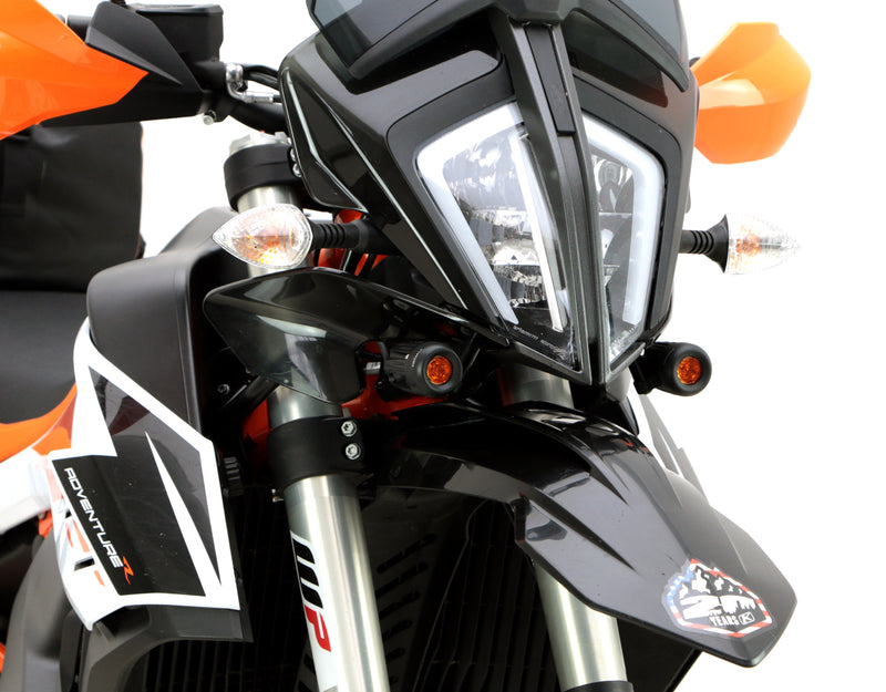 Driving Light Mount - Kawasaki Versys 650 '07-'09